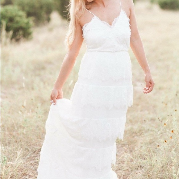 Free People Wedding Dress.Free People Erin Fetherston Lace Wedding Dress